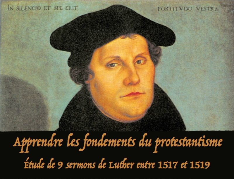 Luther fondements du protestantisme
